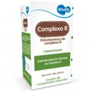 Complexo B Polivitaminico EMS com 20 Comprimidos Revestidos