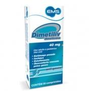 Dimetiliv 40mg com 20 Comprimidos