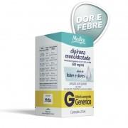 Dipirona Monoidratada 500mg\ml Solução Oral Gotas com 20ml Genérico Medley