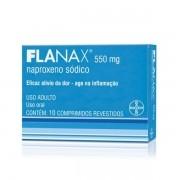 Flanax 550mg com 10 Comprimidos revestidos