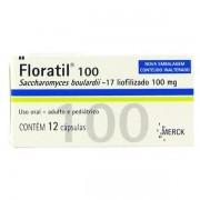 Floratil 100mg com 12 Cápsulas