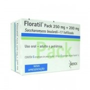 Floratil Pack 250mg + 200mg c\ 6 Envelopes