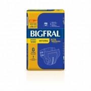 Fralda Geriatrica Bigfral Plus Noturna Tamanho G c/ 7 Unidades