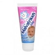 Gel Dental Malvatrikids Baby sem Fluor e Anticarie Tutti Frutti 70g