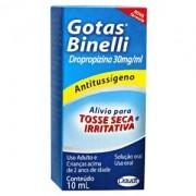 Gotas Binelli Dropropizina 30mg\ml com 10ml