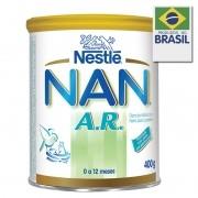 Leite Nan A.R. Formula Infantil Com Ferro Para Lactentes 400g