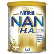 Leite Nan H.A. Fórmula Infantil Com Ferro Para Lactentes 400g