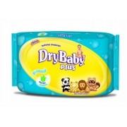 Lenco Umedecido Dry Baby Plus c\ 50 Unidades