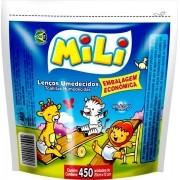 Lenco Umedecido Embalagem Econômica Mili c\ 450 Toalhas