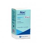 Nac Xarope Infantil 20mg com 150ml