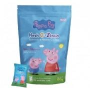 Nesh C+Zinco Peppa Pig Suplemento de Vitamina contém 15 pacotes com 4 unidades