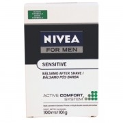 Nivea For Men Balsamo Pos Barba Sensitive 100ml