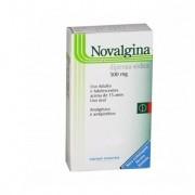 Novalgina 500mg com 10 Comprimidos