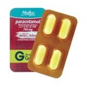 Paracetamol 750mg com 4 Comprimidos Genérico Medley