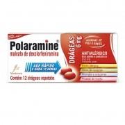 Polaramine Drageas Maleato de Dexclorfeniramina 6mg com 12 Drageas Repetabs