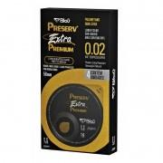 Preservativo Preserv Extra Premium com 4 Unidades