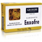 Sabonete Granado Enxofre Combate Oleosidade 90g