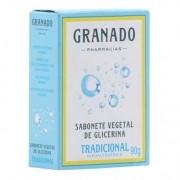 Sabonete Vegetal Glicerinado Hipoalergenico Granado Tradicional 90g