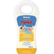 Shampoo e Condicionador 2 em 1 Turma da Monica com 200ml
