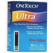 Tiras OneTouch Ultra Caixa com 50 Tiras Grátis mais 10 Tiras