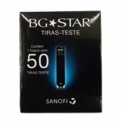 Tiras para teste de Glicemia BG Star com 50 Tiras