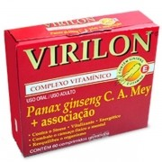 Virilon Complexo Vitaminico com 60 Comprimidos Revestidos