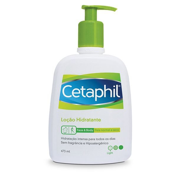 Cetaphil Loção Hidratante Face & Body Pele Normal a Seca 473ml