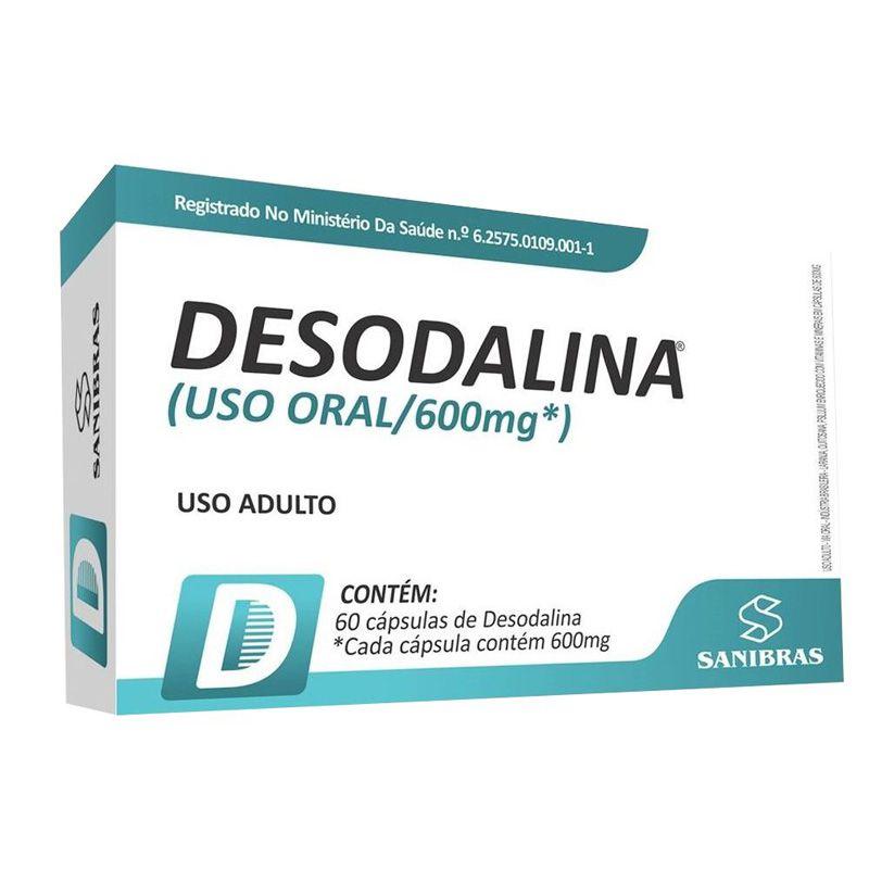 Desodalina 600mg com 60 Cápsulas