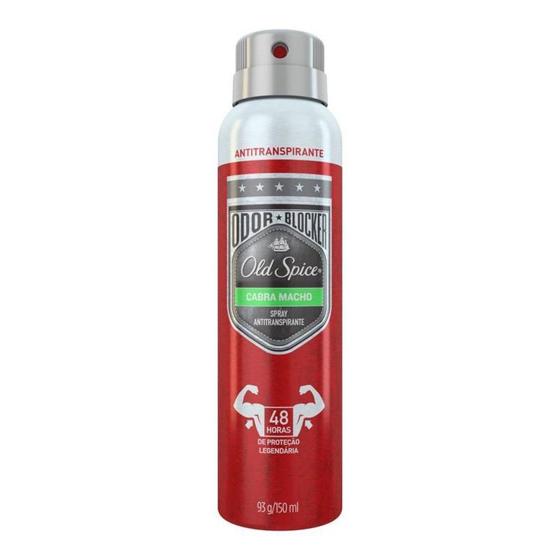 Desodorante Antitranspirante Old Spice Cabra Macho Spray com 150ml