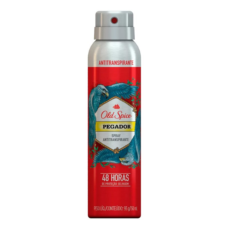 Desodorante Antitranspirante Old Spice Pegador Spray com 150ml