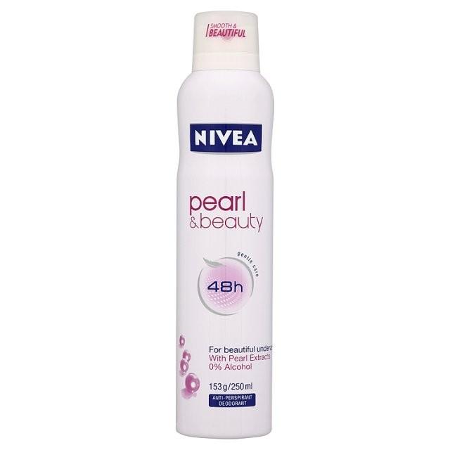 Desodorante Nivea Aerosol Pearl e Beauty com 150ml