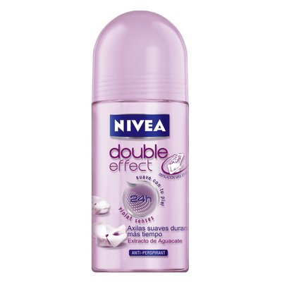 Desodorante Nivea Double Effect Roll on com 50ml