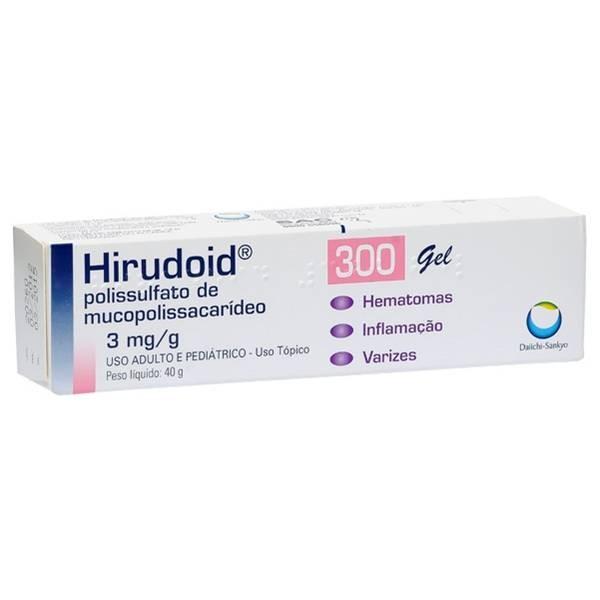 Hirudoid 300mg Gel com 40g
