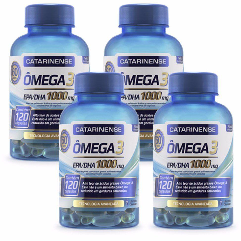 Kit Omega 3 Catarinense com 4 unidades