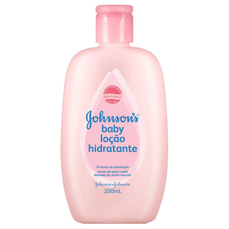 Loçao Hidratante Johnson's Baby com 200ml