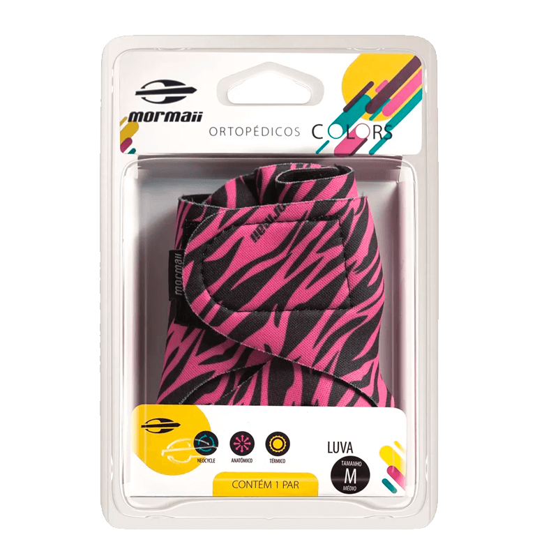 Luva Mormaii Colors Zebra Pink