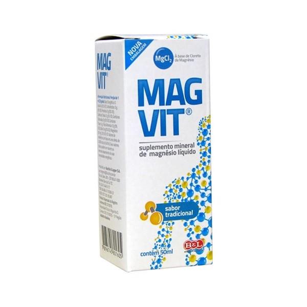Magvit Bel Suplemento Mineral com 50ml