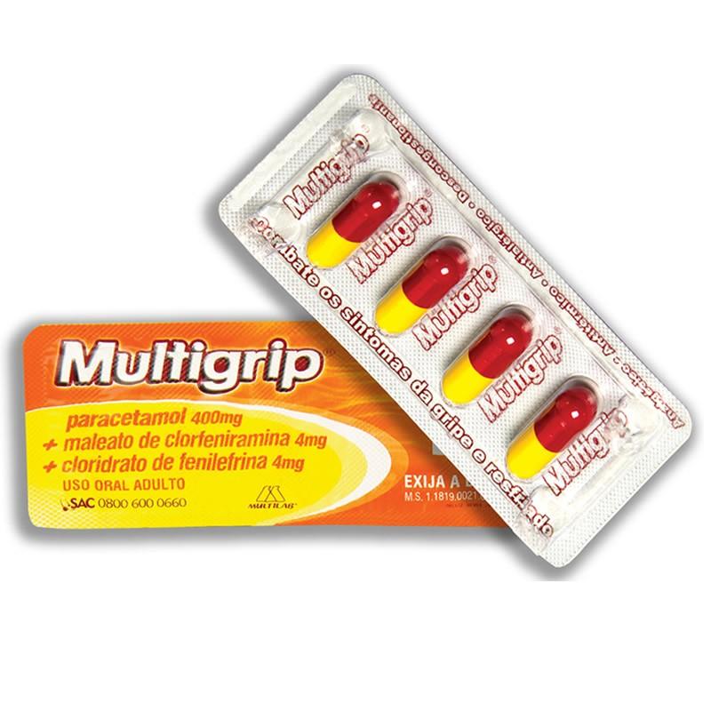 Multigrip com 4 Capsulas