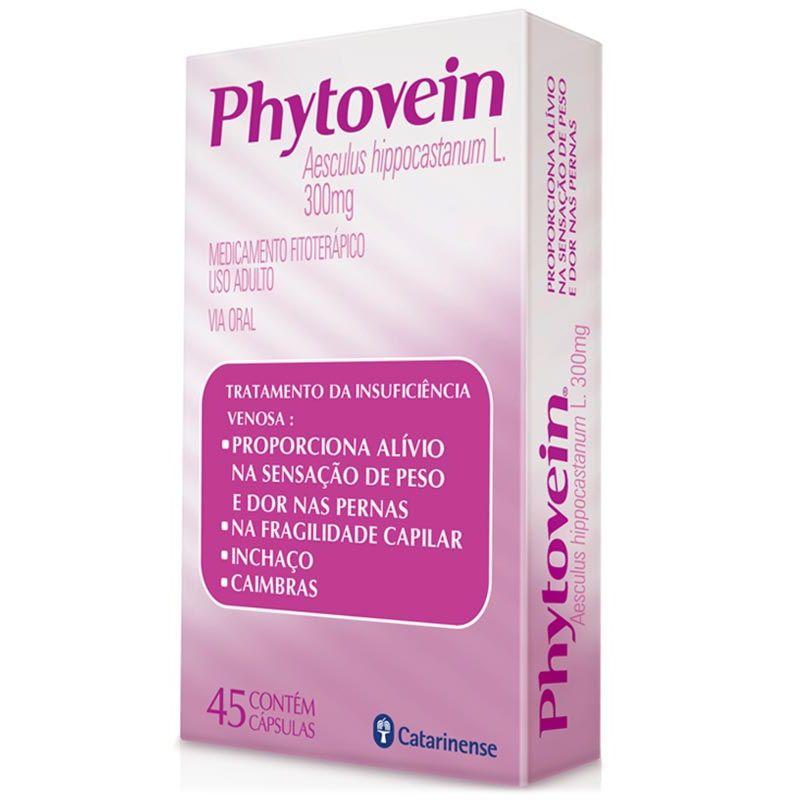 Phytovein 300mg com 45 Cápsulas