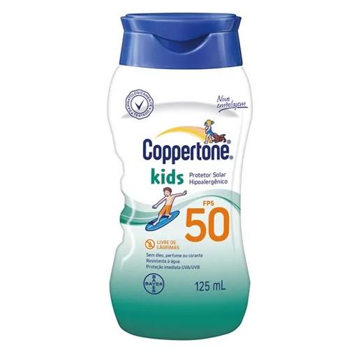 Protetor Solar Coppertone Kids FPS 50 com 125ml