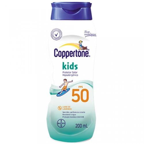 Protetor Solar Coppertone Kids FPS 50 com 200ml