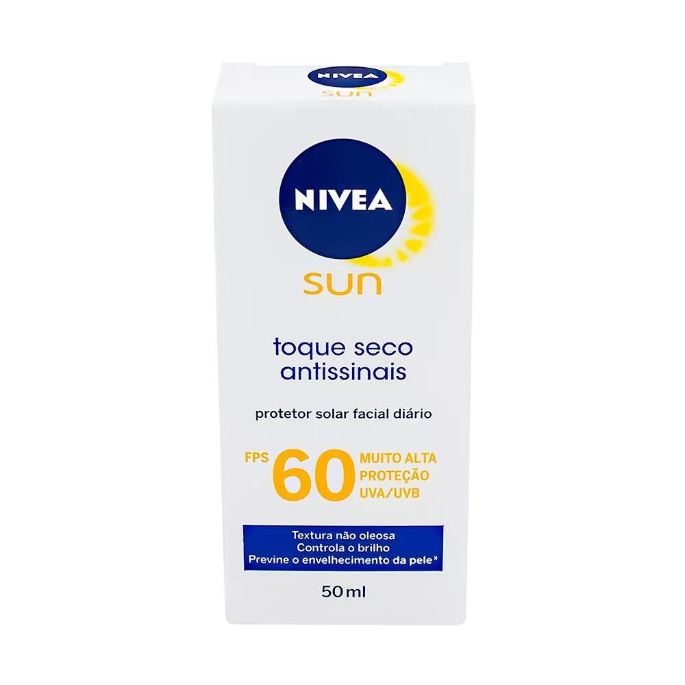 Protetor Solar Facial Diário FPS 60 com 50ml