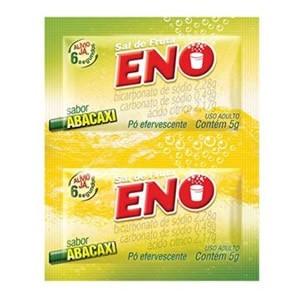 Sal de Fruta Eno Abacaxi 2 Envelopes de 5g
