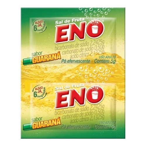 Sal de Fruta Eno Guarana 2 Envelopes de 5g