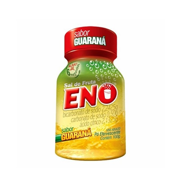 Sal de Fruta Eno sabor Guaraná com 100g