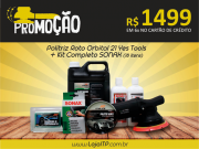 Politriz Roto Orbital 21 Yes Tools + Kit Sonax (18 itens)