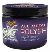 Polidor De Metais e Cromados Nxt All Metal Polysh Meguiars 148ml