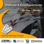 Workshop Película e Envelopamento