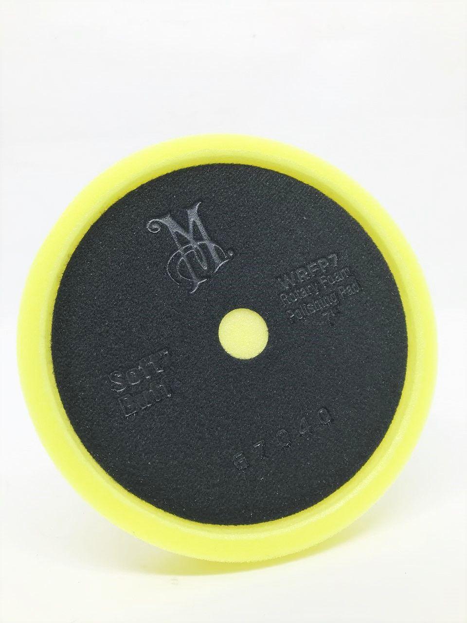 c0a0be8d35462 BOINA DE ESPUMA MACIA 7 POLEGADAS WRFP7 (AMARELA) REFINO MEGUIARS - Loja ITP