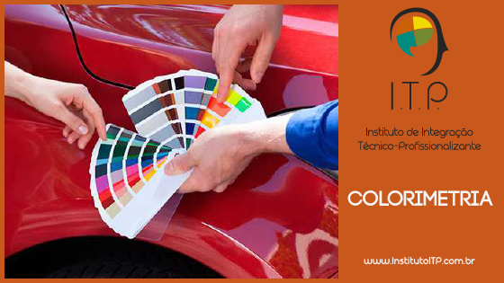 CURSO DE COLORIMETRIA AUTOMOTIVA